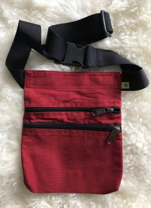 Bumbag brick red cotton