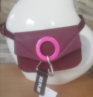 Bumbag brown red-pink