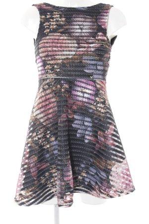 Guess A-Linien Kleid Blumenmuster Casual-Look