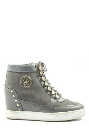Guess Sneaker con tacco grigio chiaro stile casual