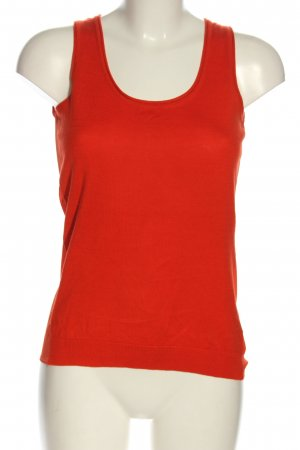 Guess ärmellose Bluse rot Casual-Look