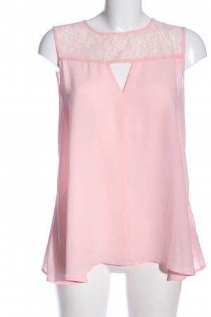 Guess ärmellose Bluse pink Casual-Look