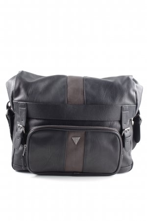 Guess Briefcase black-brown casual look