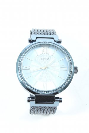 Guess Orologio analogico argento-blu stile casual