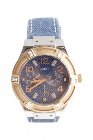 Guess Reloj analógico color oro-azul look casual