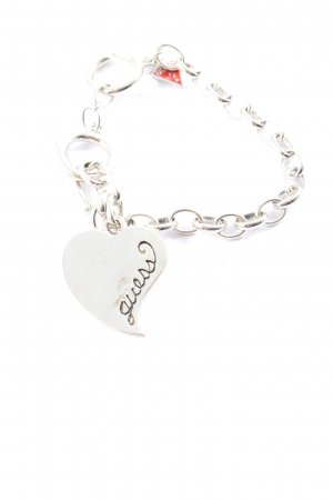 Guess Armband zilver casual uitstraling