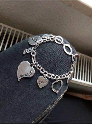 Guess Bracelet à breloques argenté