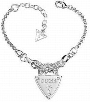 Guess Bracelet en argent argenté
