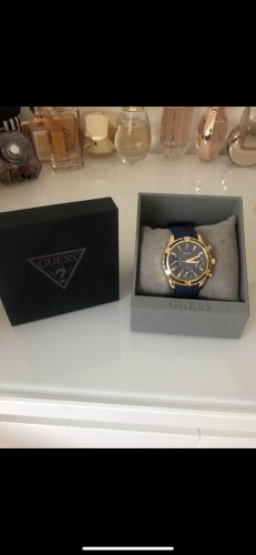 Guess Analog Watch dark blue