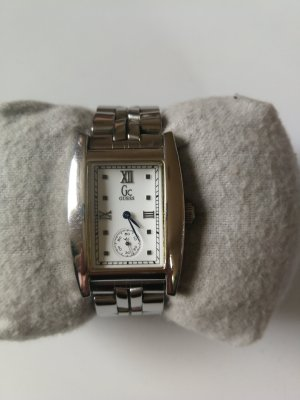 Guess Watch With Metal Strap black-silver-colored