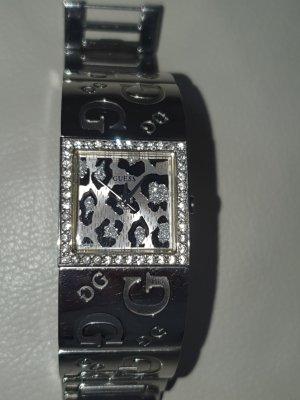 Guess Reloj analógico color plata-gris claro