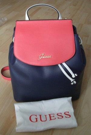 Guess Backpack Rucksack Jeannine - blau