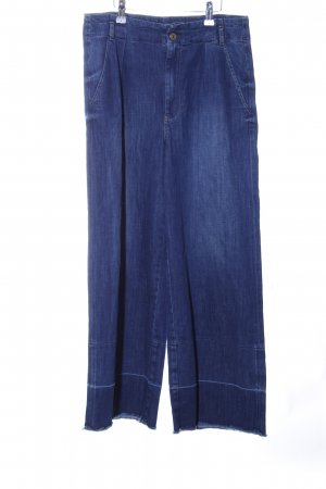 Guess Jeans larghi blu stile casual