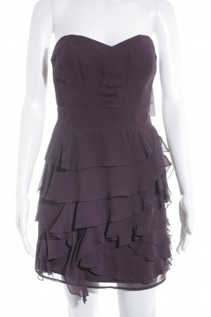 Guess Bandeaukleid blauviolett Party-Look