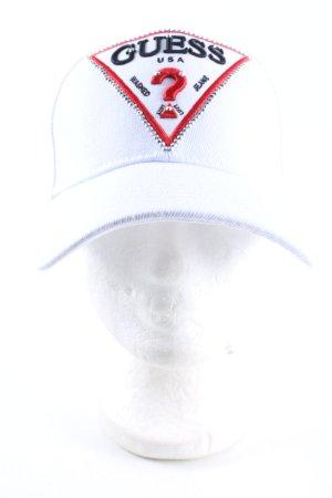 Guess Gorra de béisbol estampado temático look casual