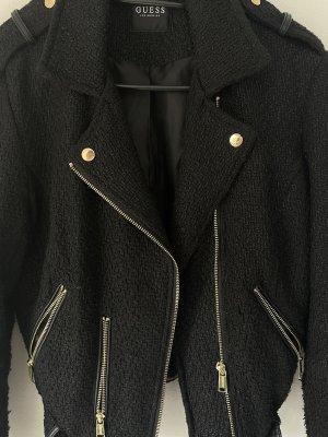 Guess Bikerjacke Jacke aus Stoff