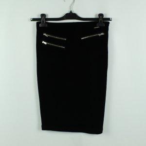 Guess Falda de tubo negro Poliéster