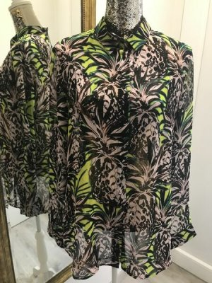 Guess Long Sleeve Blouse multicolored