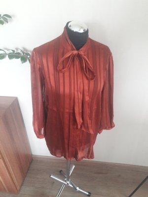 Guess Blusa con lazo rojo