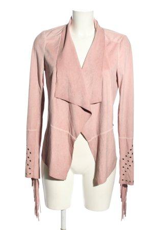 Guess Kunstlederjacke pink Elegant