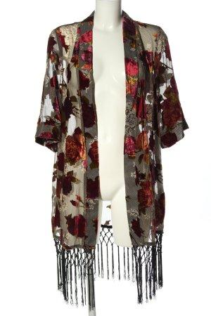 Guess Marynarka koszulowa Wzór w kwiaty Elegancki