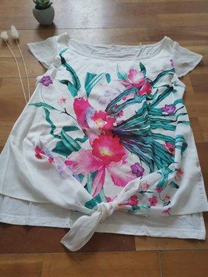 Guess Blusenshirt, tropisch, Größe XS 34