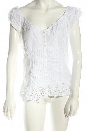 Guess Blusentop weiß Casual-Look