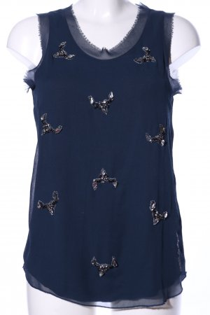 Guess Blusentop blau Casual-Look