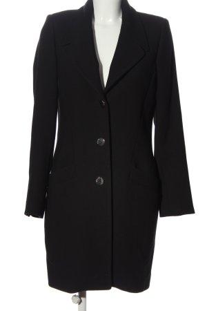 Guess bodenlanger Mantel schwarz Casual-Look