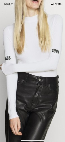 Guess Basic Bodysuit white-black