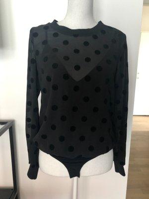 Guess Body Gr. XS Schwarz Bluse