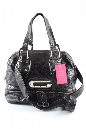 Guess Bowlingtasche schwarz Business-Look