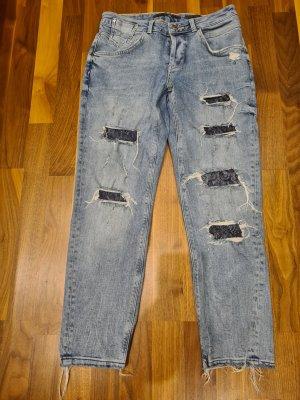 Guess Boyfriend Jeans cornflower blue mixture fibre