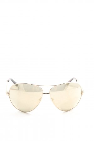 Guess Brille goldfarben Casual-Look