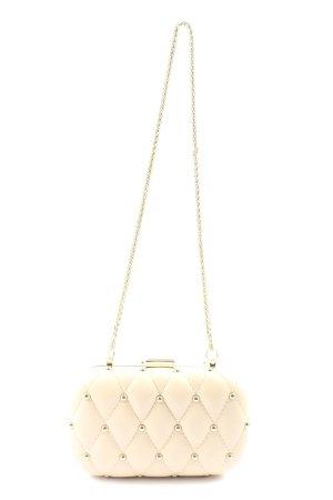 Guess Frame Bag natural white quilting pattern elegant