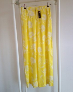 Guess Pleated Trousers white-yellow