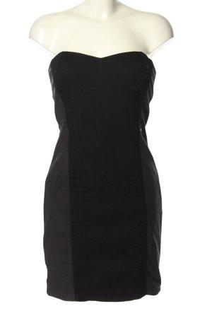 Guess Bustierkleid schwarz-braun extravaganter Stil