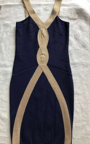 Guess by Marciano Cocktail Dress gold-colored-dark blue