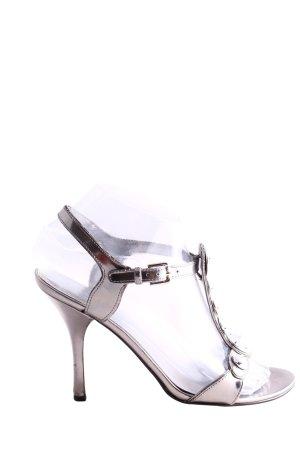 Guess by Marciano High Heel Sandaletten silberfarben Elegant