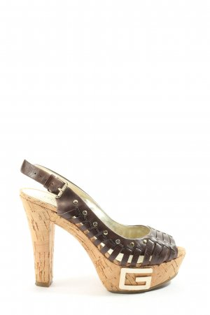 Guess by Marciano High Heel Sandaletten braun Casual-Look