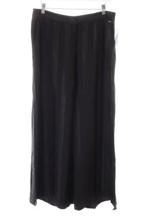 Guess by Marciano Traje de pantalón negro estampado a rayas look casual