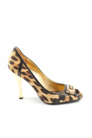 Guess by Marciano Peeptoe Pumps Animalmuster Elegant