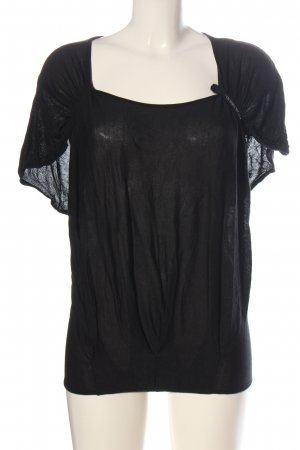 Guess by Marciano Silk Blouse black allover print casual look