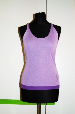 Guess by Marciano Camiseta sin mangas lila-púrpura Viscosa