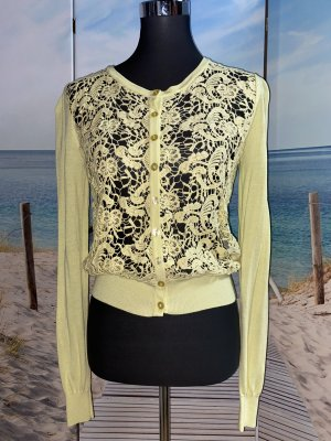 Guess by Marciano Knitted Vest pale yellow