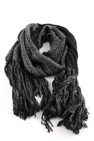 Guess by Marciano Wollen sjaal lichtgrijs-zwart casual uitstraling
