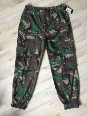 Guess Camouflage Cargo Pants Size 27
