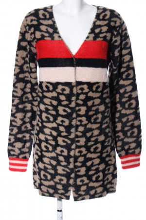 Guess Cardigan Animalmuster Casual-Look
