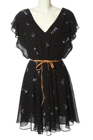 Guess Szyfonowa sukienka Wzór w kwiaty W stylu casual