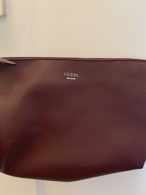 Guess Clutch brown red-bordeaux